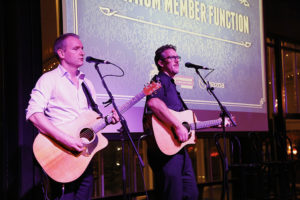 Melbourne Acoustic Duo Brightside Duo corporate events