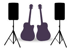 brightside duo acoustic and DJ package